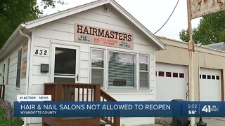 Salon owners in Wyandotte County anxious to reopen