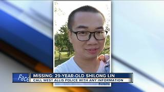 West Allis police looking for missing 29-year-old man - Video