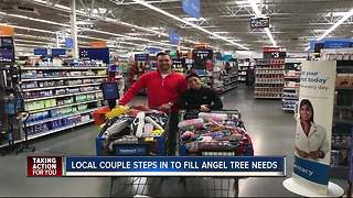 Local couple raises money for needy kids in time for Christmas - Video