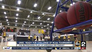 UMBC 'ready for challenge' of NCAA Tournament - Video