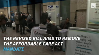 Senate GOP Tax Plan Will Repeal Obamacare Individual Mandate - Video