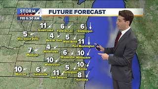 Sunny and cool Thursday - Video