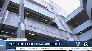 Canceled Holiday Bowl takes another hit