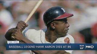Hank Aaaron passed away