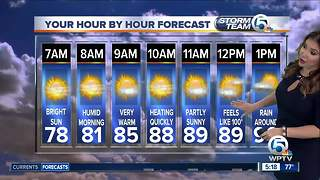 South Florida Monday morning forecast (7/9/18) - Video