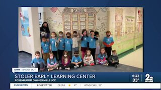 Good Morning Maryland from Stoler Early Learning Center in Owings Mills!