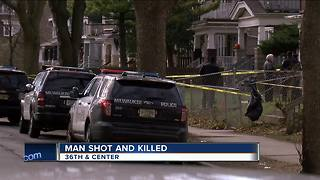 Man killed in shooting on North side - Video