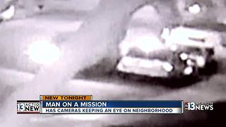 Camera captures car being set on fire - Video