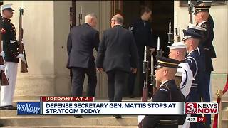 Defense Secretary Gen. Jim Mattis visits Stratcom - Video