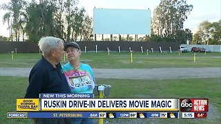 Ruskin Drive-In still delivers movie magic to smaller crowds