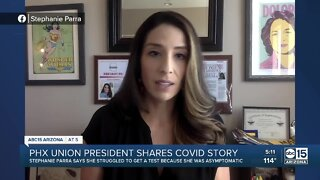PUHSD Governing Board President tests positive for COVID, raises concerns for testing