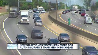 New study finds women pay more for auto insurance than men in Michigan