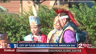City of Tulsa celebrates 'Native American Day' - Video