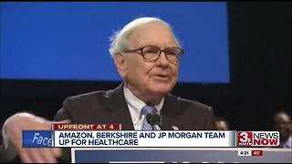 Amazon, BH, JP Morgan creating health care nonprofit - Video