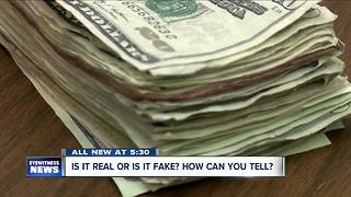 Here's how to keep fake money out of your wallet - Video