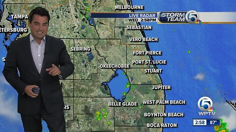 Wednesday mid-afternoon forecast