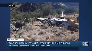 Two people killed in plane crash near Cordes Lakes in central Arizona
