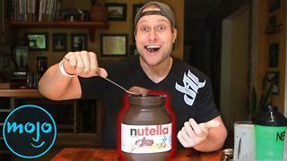 Top 10 YouTube Channels with Eating Challenges - Video