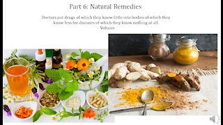 Infectious Disease History and Today - 6. Natural Remedies