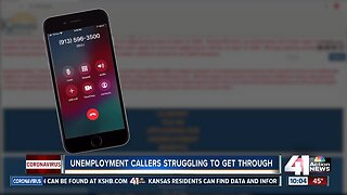 Unemployment callers struggle to get through
