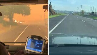 Splitscreen: before and after the Australian bushfires