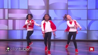 "Kids with serious dance moves on ""The Ellen DeGeneres Show"" 