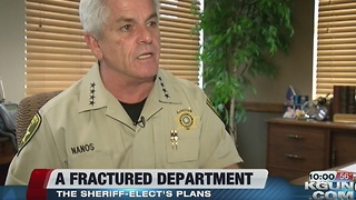 New sheriff announces plans