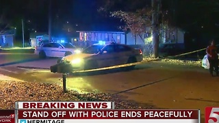Standoff Situation Ends In Hermitage