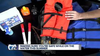Staying Safe on the Water This Summer - Video