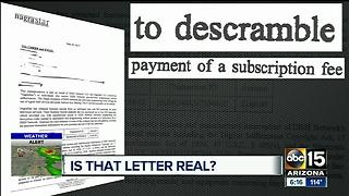 Letter from Nagrastar claims to have money for DISH users - Video