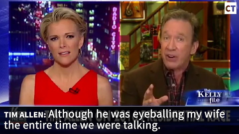 Tim Allen Reveals Sick Thing That Happened The Night He & His Wife Met Bill Clinton