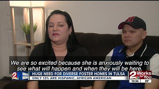 Need for diverse foster homes in Tulsa County - Video
