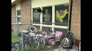Thousands of pounds of stolen meat found at a daycare center in Milwaukee (September 22, 2006)