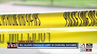 MO House advances bill expanding concealed carry