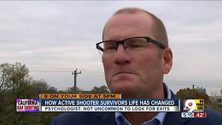 How active shooter survivors life has changed