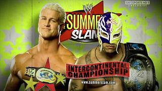 WWE SummerSlam 2009 - Rey Mysterio vs Dolph Ziggler - WWE Intercontinental Championship - Video