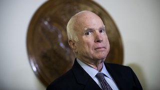Sen. John McCain Hospitalized With Intestinal Infection - Video