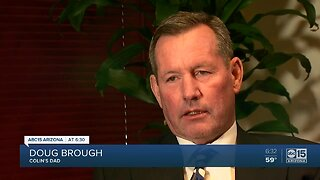 Colin Brough's father speaks out