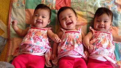 Triple the CUTE! | All the Most Adorable Triplets Ever