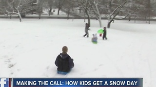 How students get a snow day - Video