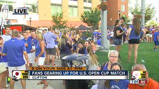 FC Cincinnati fans gearing up for U.S. Open Cup match - Video