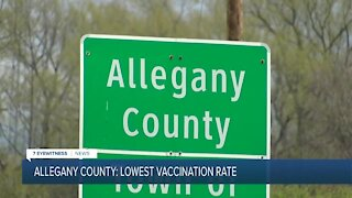 Why Allegany County has the lowest vaccination rate in New York