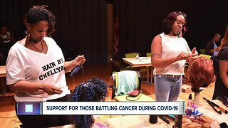 Support for those battling cancer during COVID-19
