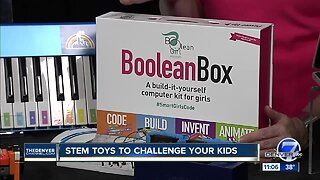 STEM toys to challenge your kids