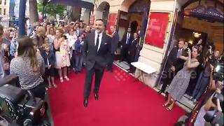 David Walliams at the press night of Gangster Granny - Video