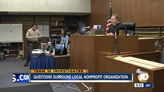 Questions surround local nonprofit organization - Video