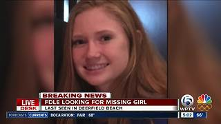 Officials searching for missing Broward County teen - Video