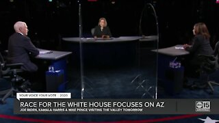 Race for White House focuses on Arizona