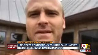 Cincy native loses Texas home in aftermath of Hurricane Harvey - Video