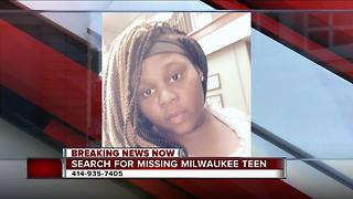 Milwaukee police looking for critical missing 17-year-old girl - Video